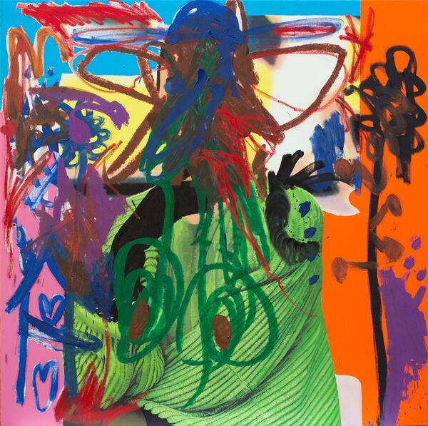 Jannis Varelas, 'Green Lady', 2016