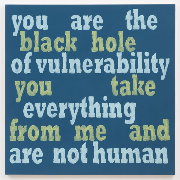 Daniel Joseph Martinez, 'You Are The Black Hole', 2013