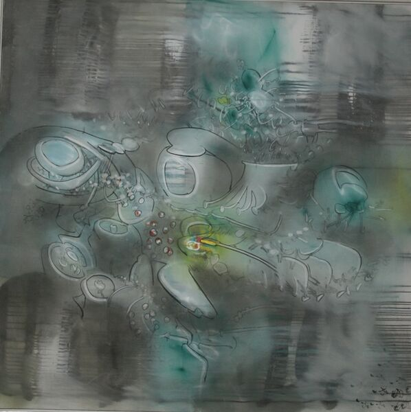Roberto Matta, 'Nell'Acqua La Rosa', 1970
