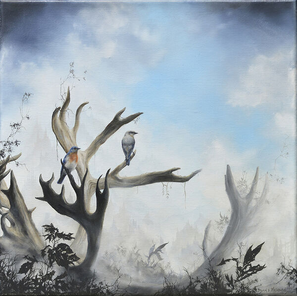 Brian Mashburn, 'Bluebirds', 2017