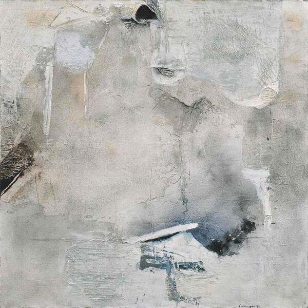 Giuseppe Santomaso, 'Bianchi', 1964