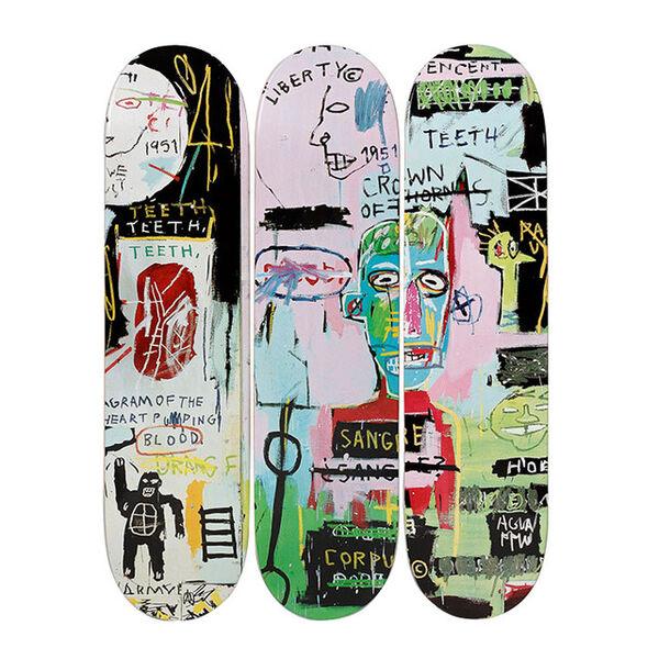 Jean-Michel Basquiat, 'In Italian Skatedecks', 2017