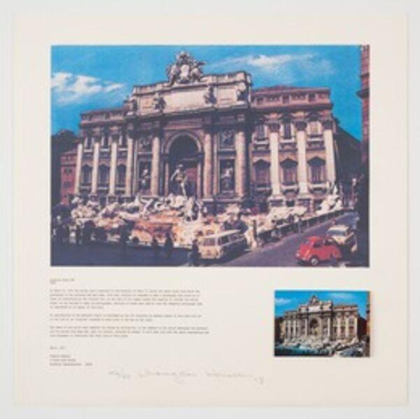 Douglas Huebler, 'Location Piece #25, Rome', 1973