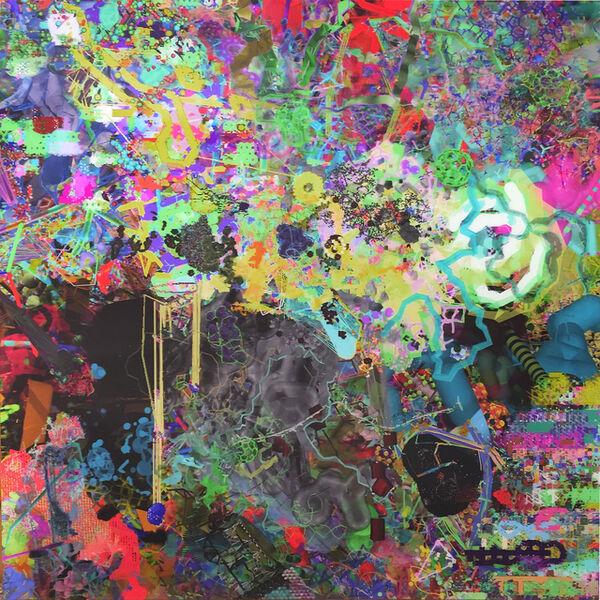 Shane Hope, '  Ray Trace Fog Start  Mol Mods  ( 3D Lenticular)', 2011