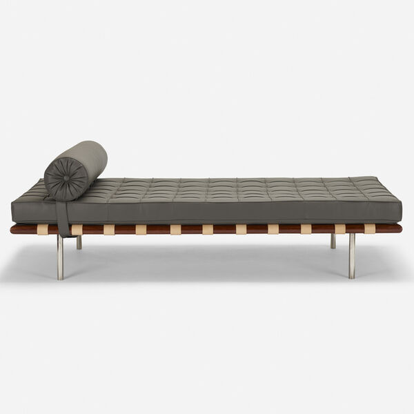 Ludwig Mies van der Rohe, 'Barcelona daybed', 1928