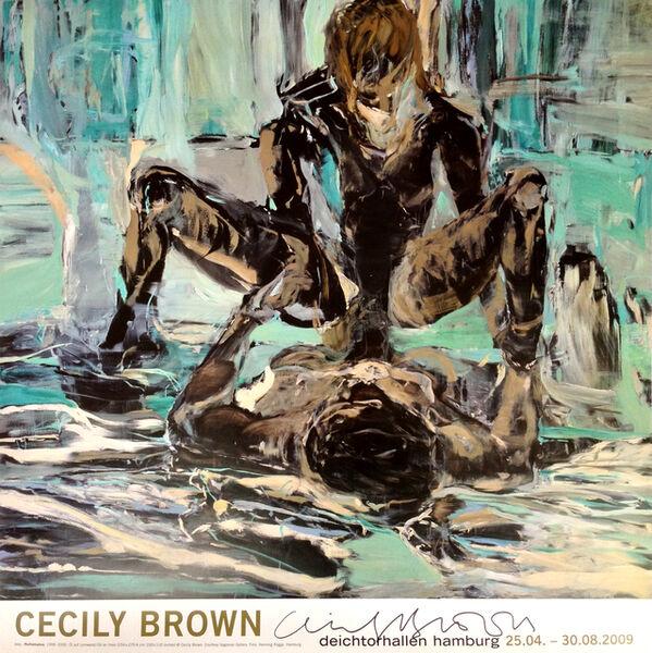 "Cecily Brown, '""Cecily Brown"", Deichtorhallen Hamburg, Germany (Hand Signed) ', 2009"