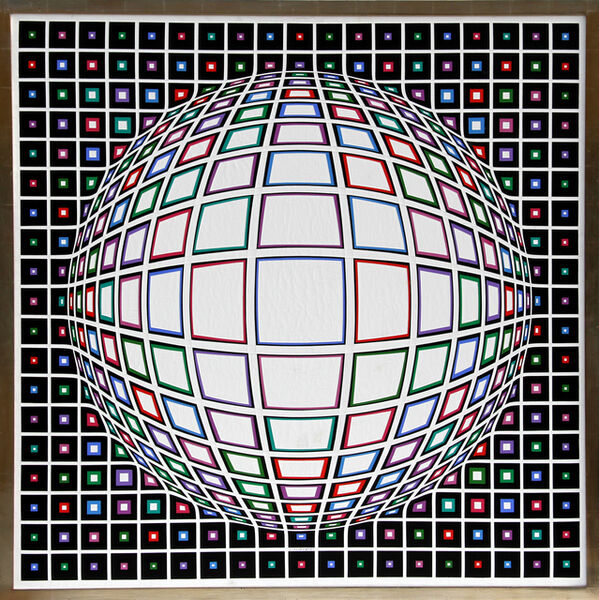 Victor Vasarely, 'Bianco', 1987
