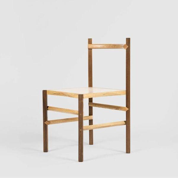 Martino Gamper, 'Round & Square Chair (Pink)', 2019