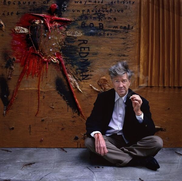 Gérard Rancinan, 'David Lynch portrait', 2001