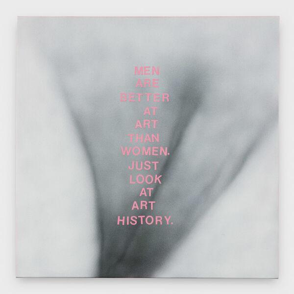 Betty Tompkins, 'Men are...', 2019