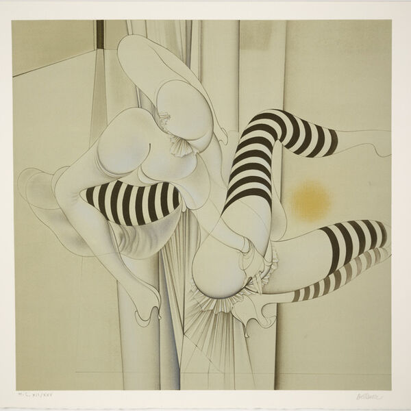 Hans Bellmer, 'Les Bas Rayes from An American Portrait, Volume II: Not Songs of Loyalty Alone', 1975