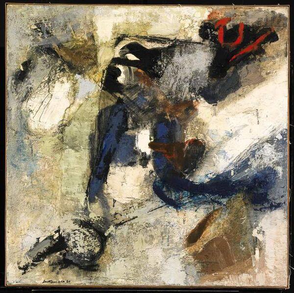 Giuseppe Santomaso, 'Canto Andaluso', 1960