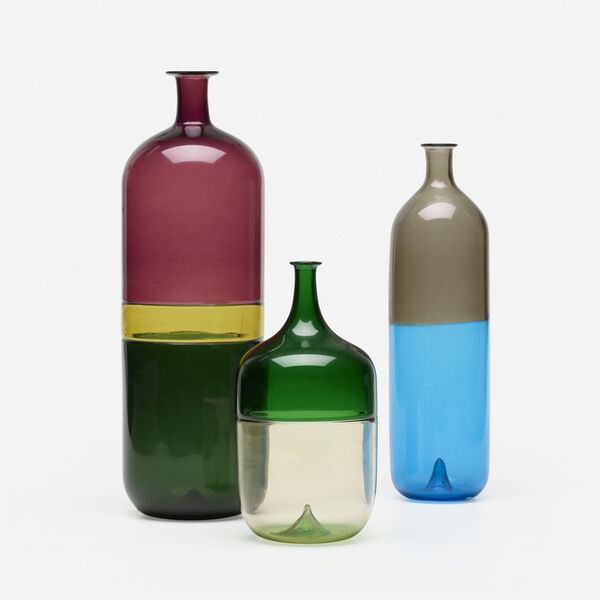 Tapio Wirkkala, 'collection of three vases', c. 1980