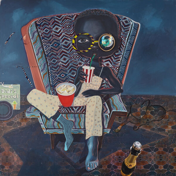 Ndidi Emefiele, 'An audience 1', 2018