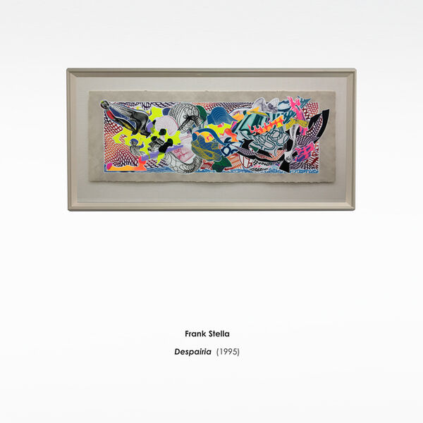 Frank Stella, 'Desparia', 1995
