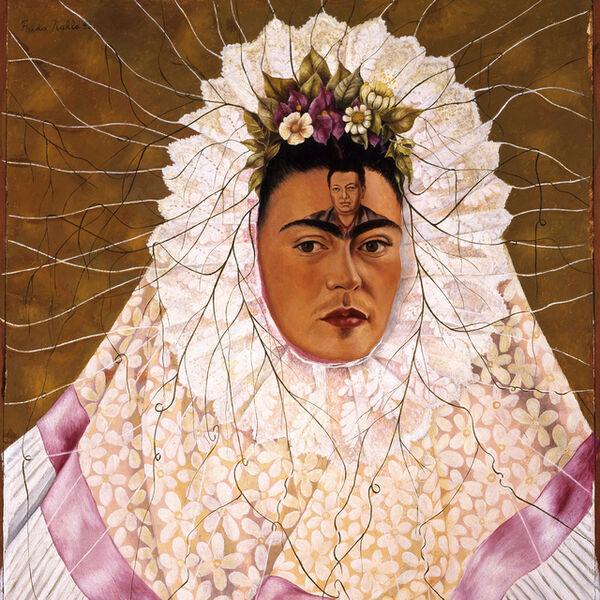 Frida Kahlo, 'Diego on my mind (Self-portrait as Tehuana)', 1943