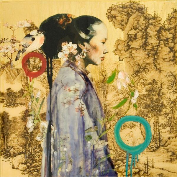 Hung Liu, 'Mountain Lady IV', 2011