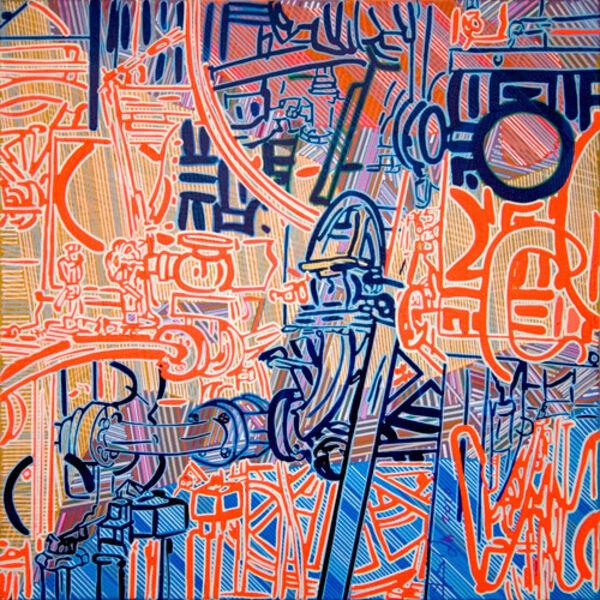 Yigit Yazici, 'Pipes of Life', 2010
