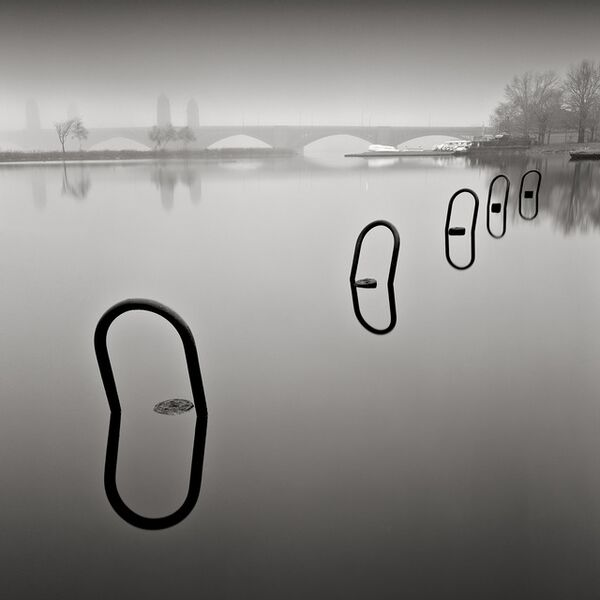 David Fokos, 'Mooring Rings, Study #1, Boston, Massachusetts', 1997
