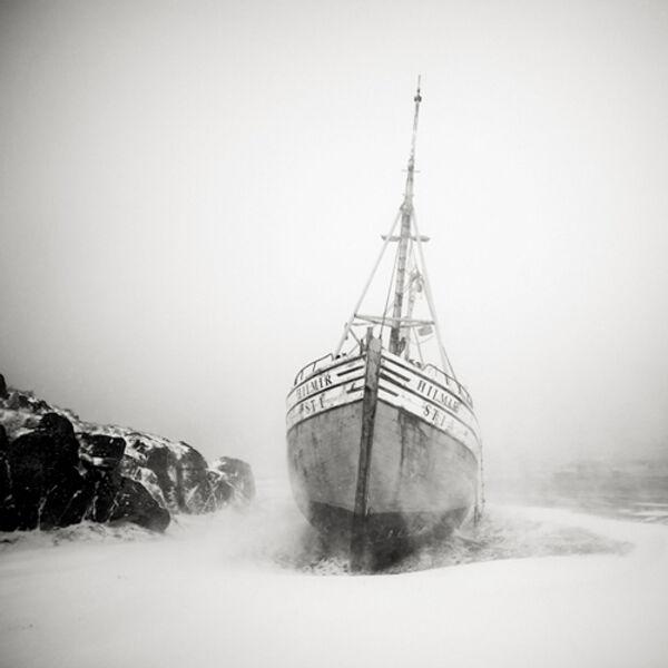 Josef Hoflehner, 'Fishing Boat during Blizzard, Iceland', 2006
