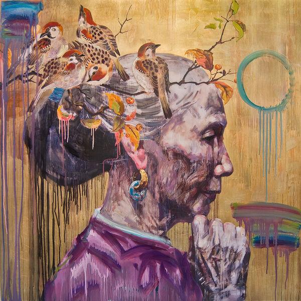 Hung Liu, 'Golden Autumn', 2014