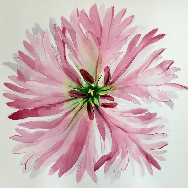 Idoline Duke, 'Pink Flower Imagined', 2019