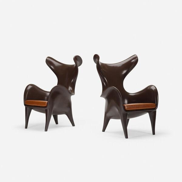 Jordan Mozer, 'Frankie chairs, pair', c. 2007