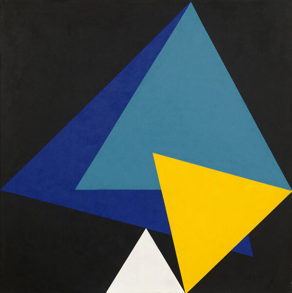 Peter Lowe, 'Triangles in a Dodecagon', 2001-2004