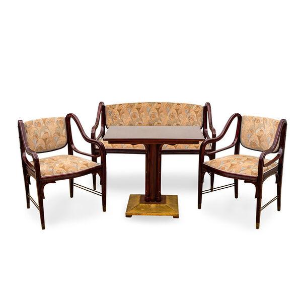 Otto Wagner, 'Otto Wagner sitting room suite model nr. 412 J. & J. Kohn design 1901', ca. 1901