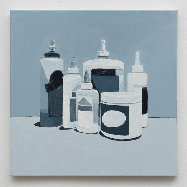Robert Levine, 'Glue & Paste (Grisaille)', 2019