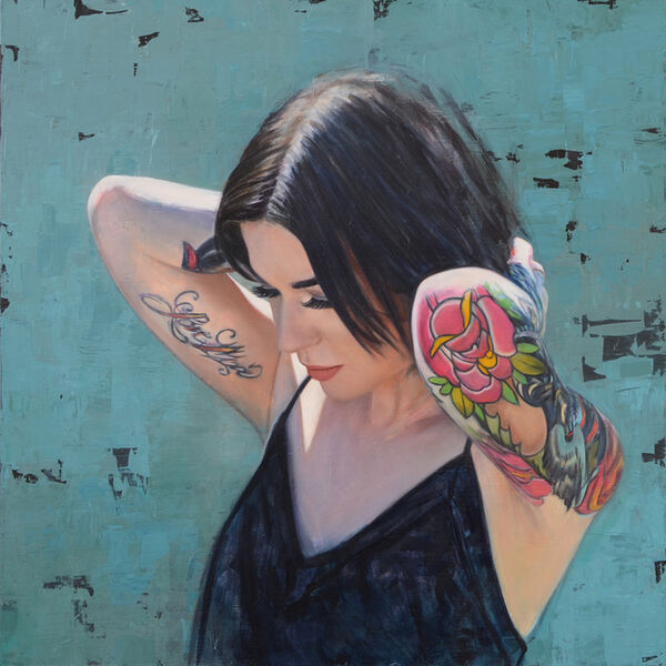 Philip Munoz, 'Girl with Flower Tattoos', 2019