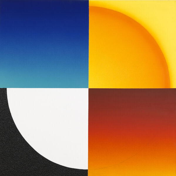 Peter Kalkhof, 'Colour and Space, Division as Unity', 2011