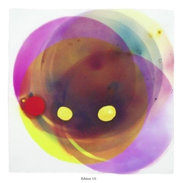 Rosemarie Fiore, 'Smoke Painting Eclipse, Yellow ', 2015