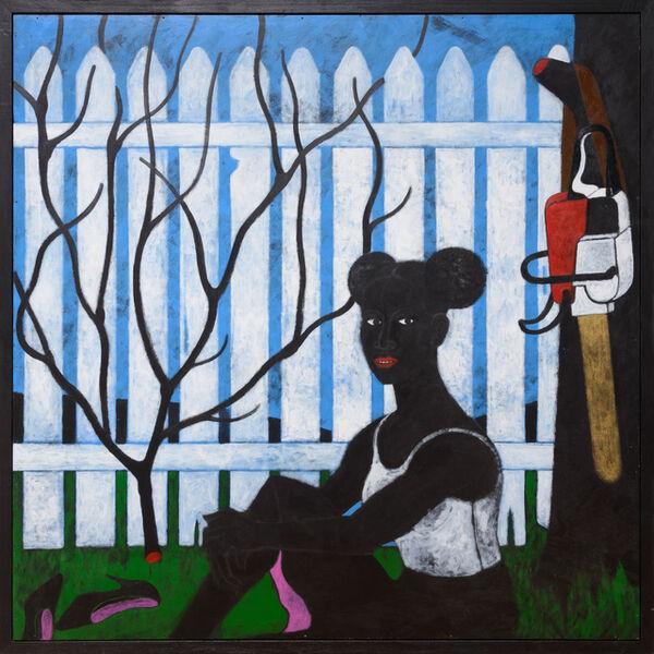 Abe Odedina, 'Beulah's garden', 2018