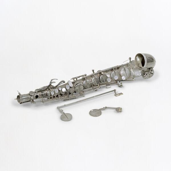 Susan Philipsz, 'War Damaged Musical Instruments, Altsaxophon (ruin)', 2015