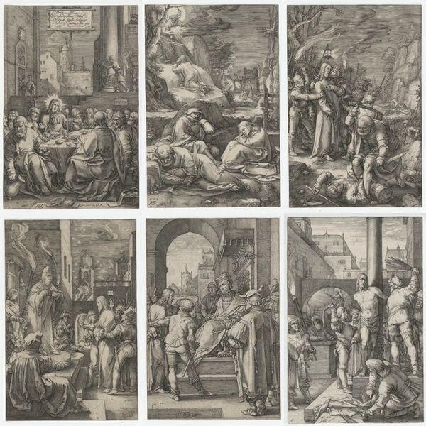 Hendrik Goltzius, 'The Passion', 1596-1598