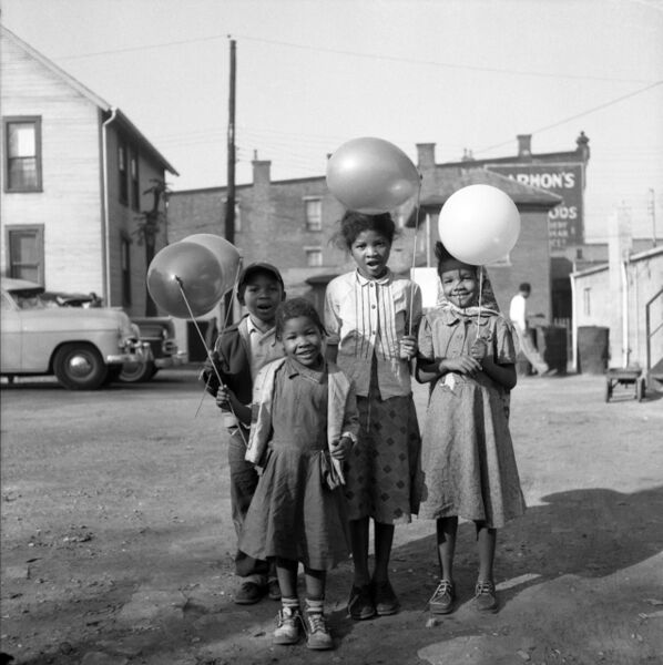 Adger Cowans, 'Balloons', 1955