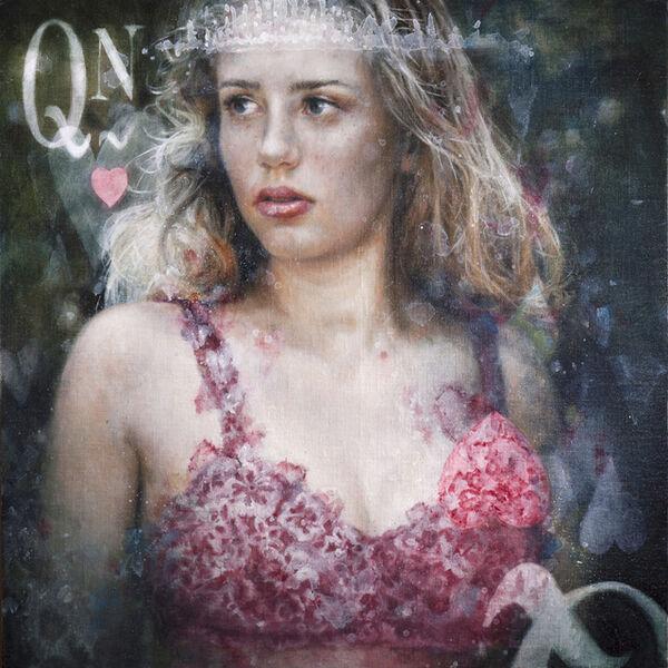 June Stratton, 'Queen of Hearts', 2018
