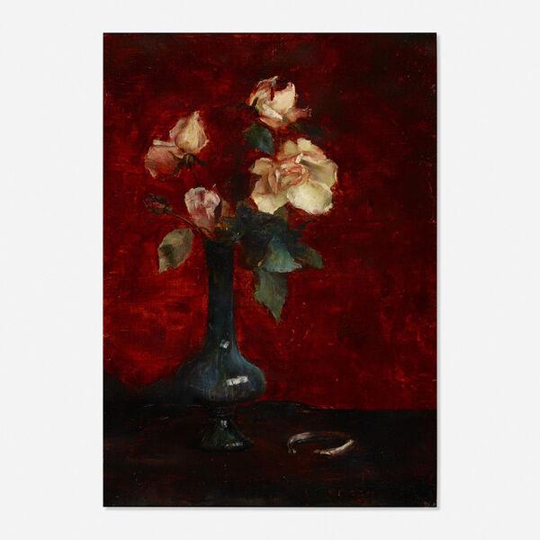 Edmund Charles Tarbell, 'Untitled (still life with roses)'