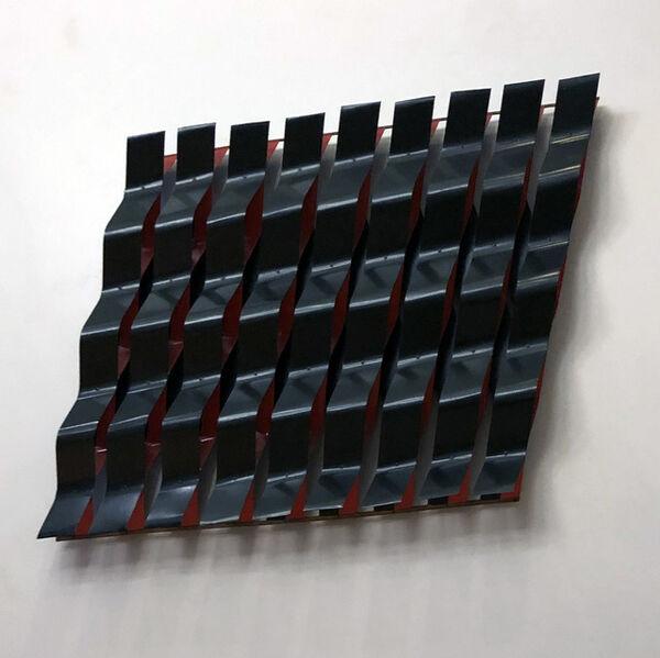 Duayne Hatchett, 'Black Red Weaving', 1982