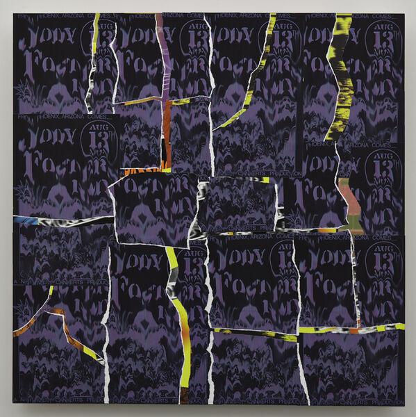 Gary Simmons, 'Between the Cracks', 2015