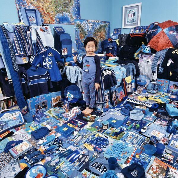 JeongMee Yoon, 'Blue project-Donghoo ', 2007