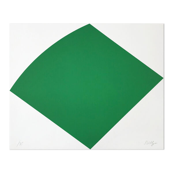 Ellsworth Kelly, 'Green Curve', 1996
