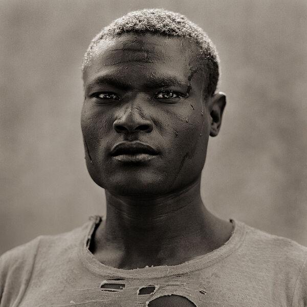 Dana Gluckstein, 'Tribal Man in Transition, Kenya', 1985