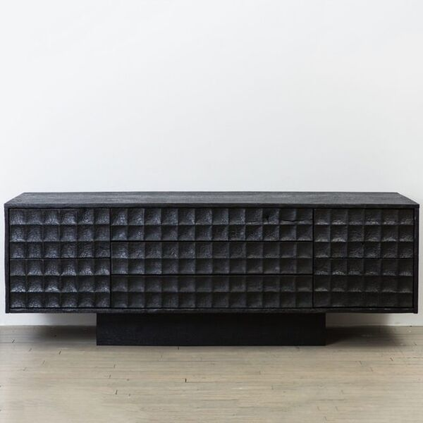 Yard Sale Project, 'Pure Black Console', 2017
