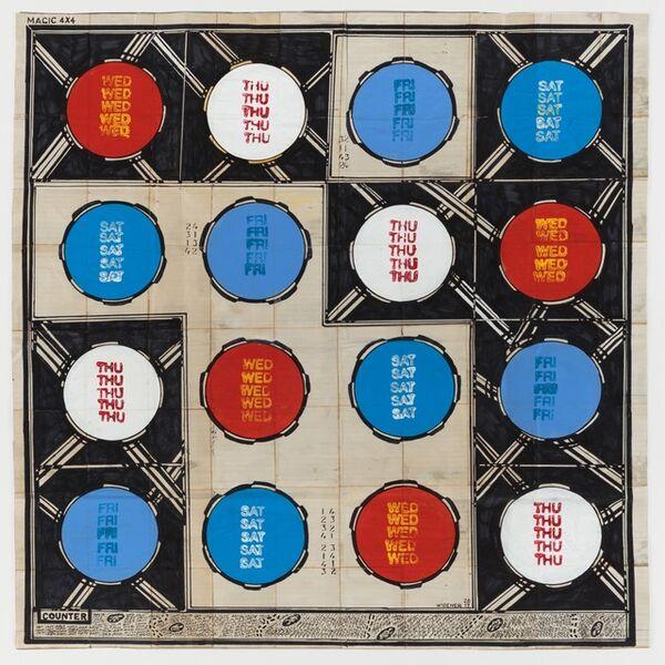 George Widener, 'Magic Circles', 2017