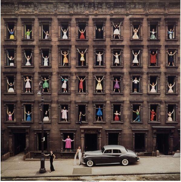 Ormond Gigli, 'Girls in the Windows, New York City', 1960