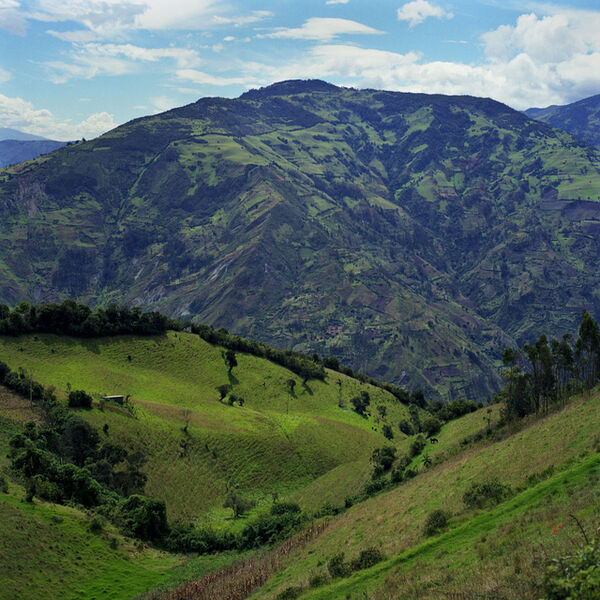 Amie Potsic, 'Baños, Ecuador – Quilted Mountains', 2010
