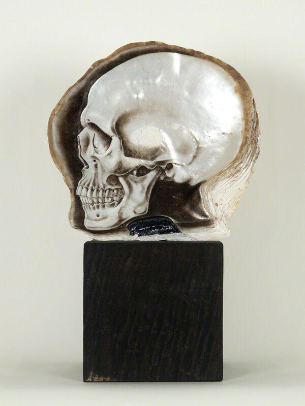 Gregory Halili, 'Memento VI', 2014, Mixed Media, Oil on mother of pearl, Nancy Hoffman Gallery