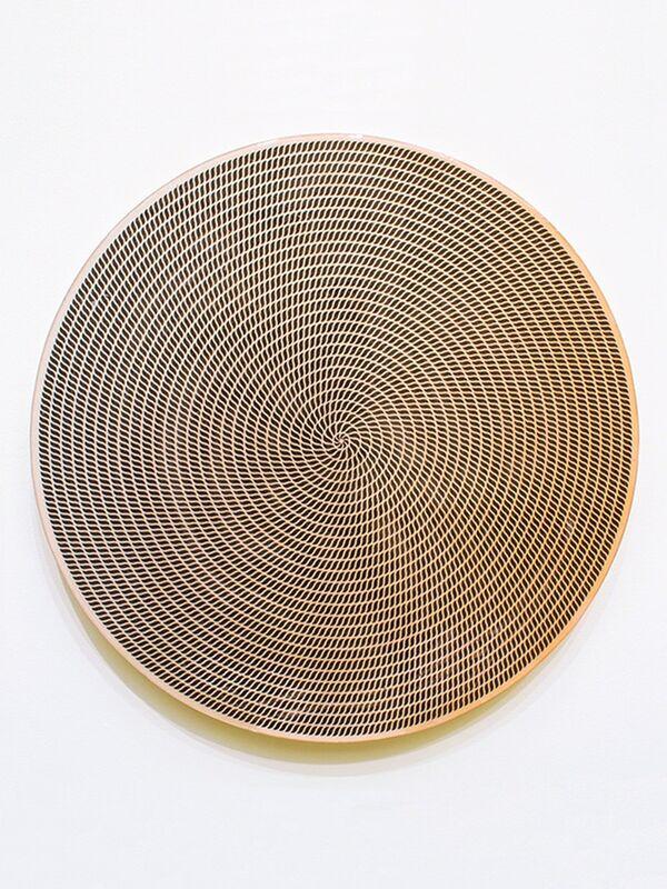 Jesse Moretti, 'Labyrinth', 2013, Painting, Resined metallic c-print on wood panel, Patrick Parrish Gallery